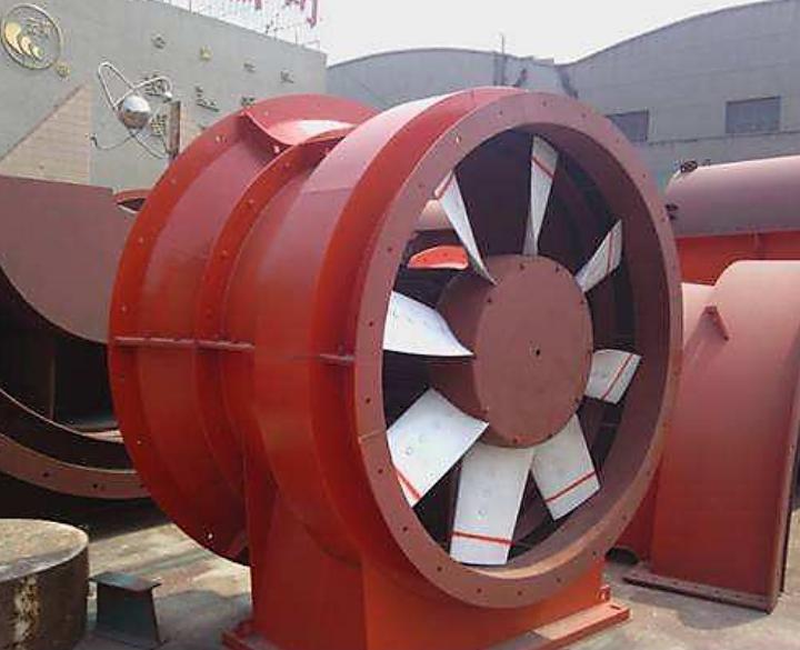 K型矿用节能通风机