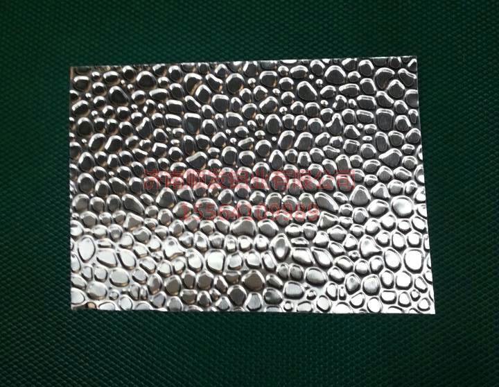 锤形压花铝板