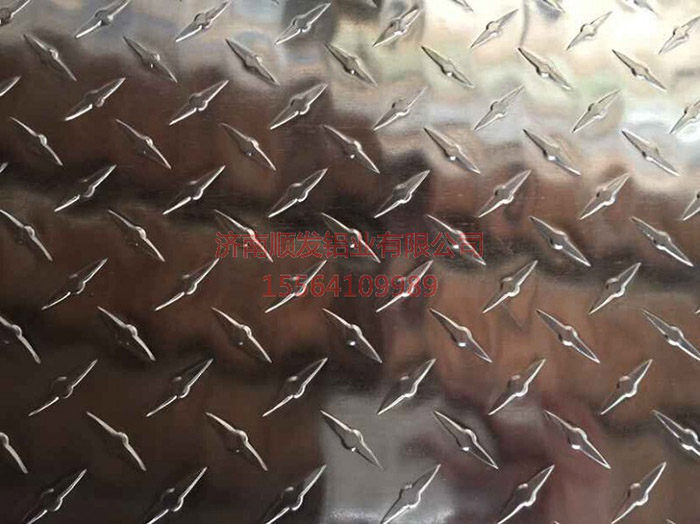 镜面指针花纹铝板