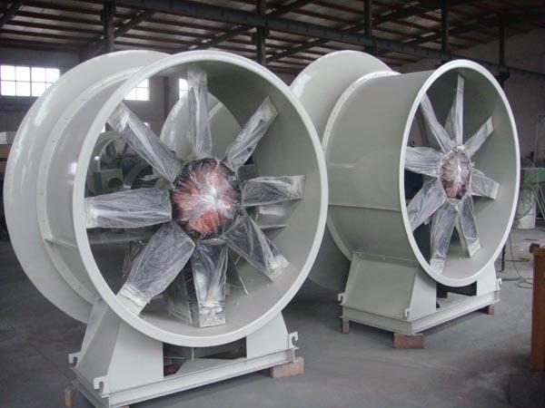 矿用轴流式通风机
