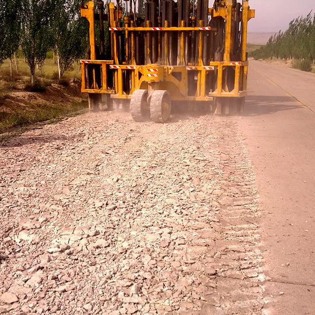 水泥路面破碎機