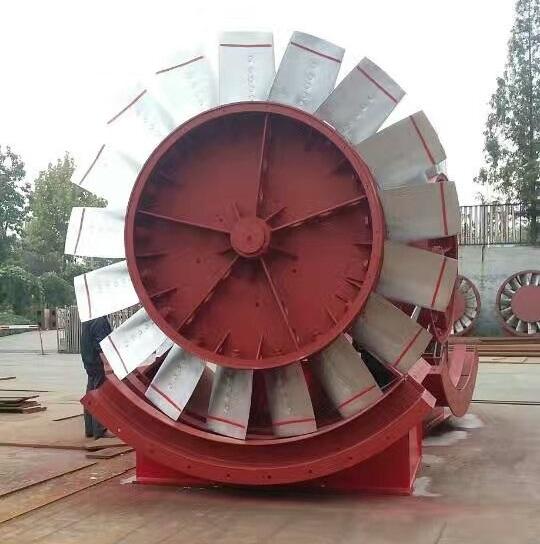 煤礦對旋風機