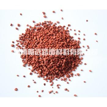 红色陶瓷颗粒
