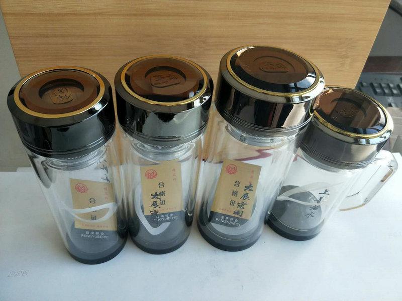 雙層真空玻璃杯 (3)