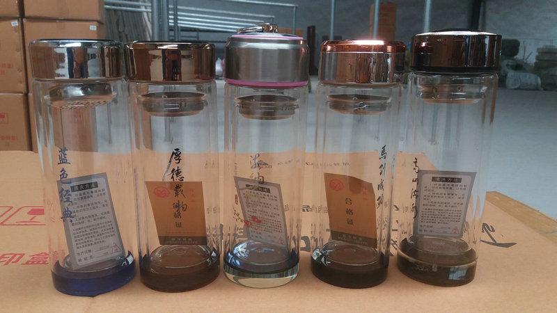 双层广告玻璃杯