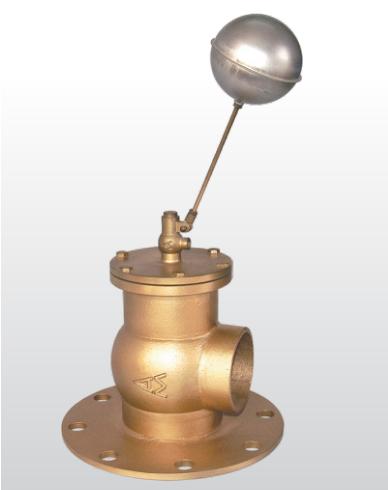 902黃銅法蘭浮球閥