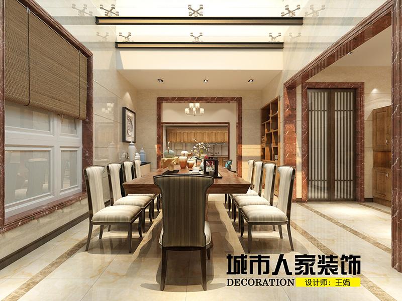龙湖别墅300新中式装修-王娟