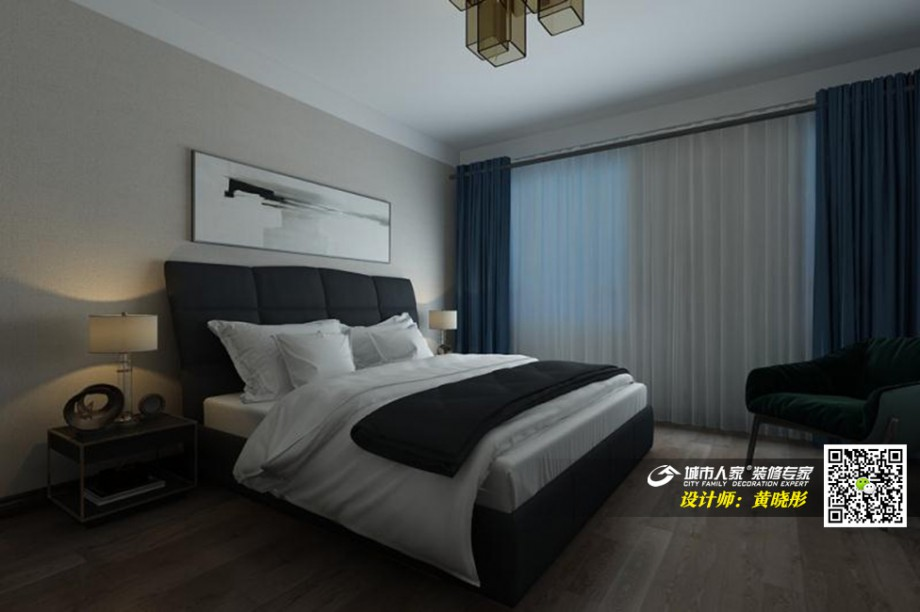 金地澜悦140平港式风格-黄晓彤3