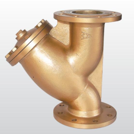 603黃銅法蘭過濾器