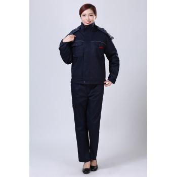 藍黑冬裝工作服