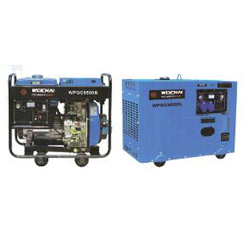 1KW-10KW 微型汽柴油发电机组