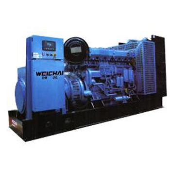 400KW-560KW潍柴重机王系列发电机组