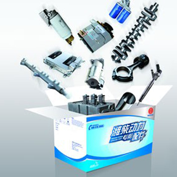 潍柴发电机组专用配件、油品