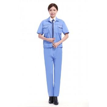 天蓝色短袖