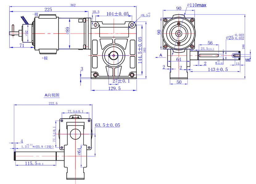 90ZYJ-DW房车电机1