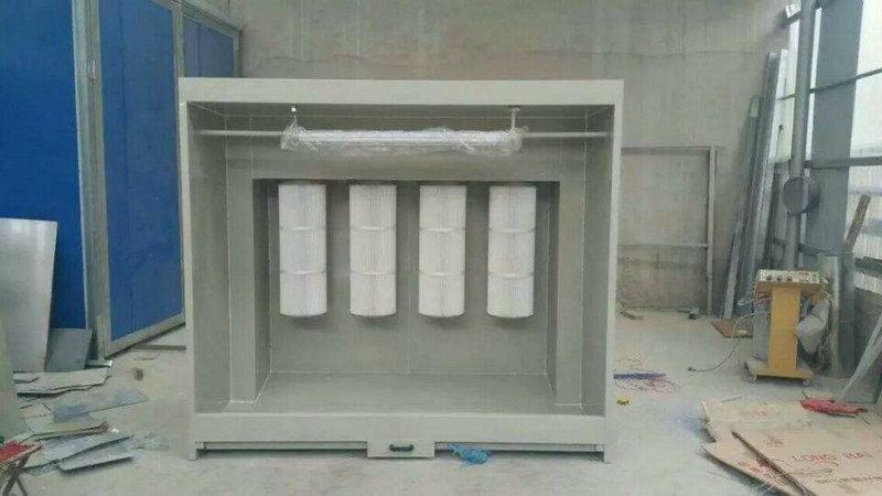 喷塑粉末回收柜 (1)