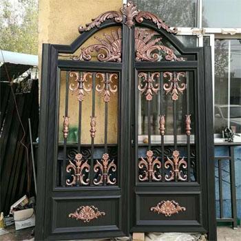 庭院铝艺入户门