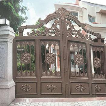 复古庭院铝艺门