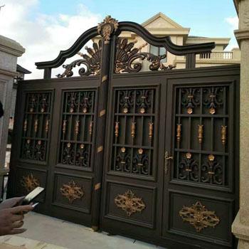铸铝艺术大门