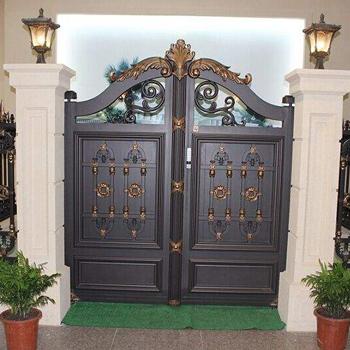 别墅铝艺入户大门
