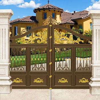 欧式铝艺别墅庭院门