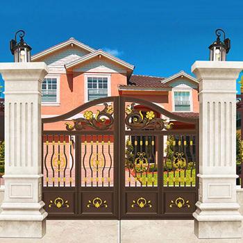 庭院铝艺入户大门