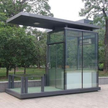 玻璃移动岗亭