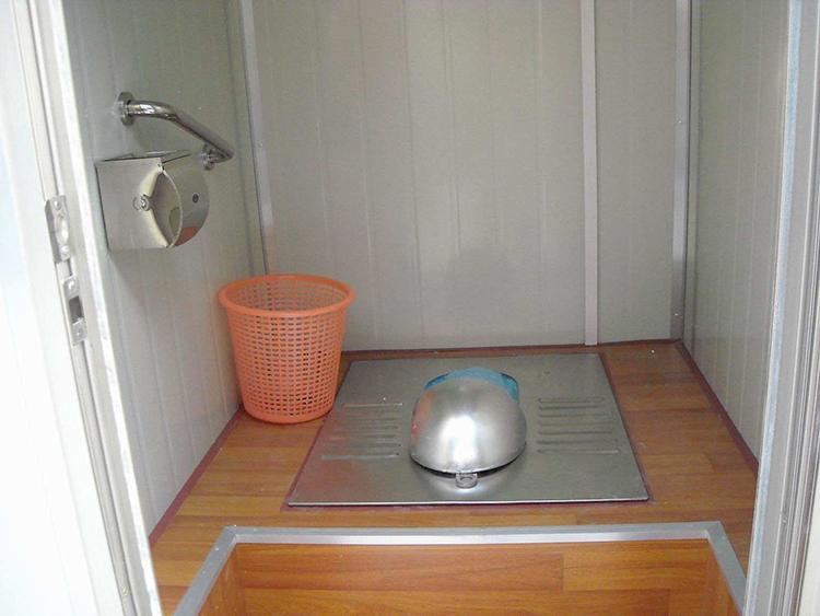 免水冲打包型移动厕所