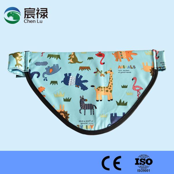 儿童三角防护巾
