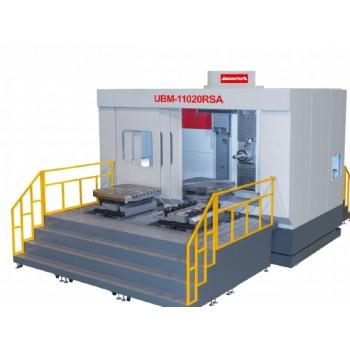 定柱式雙工位 CNC臥式搪銑床