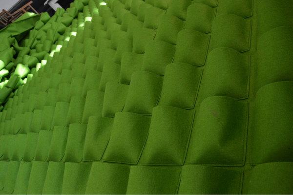 绿化防寒墨绿色无纺布