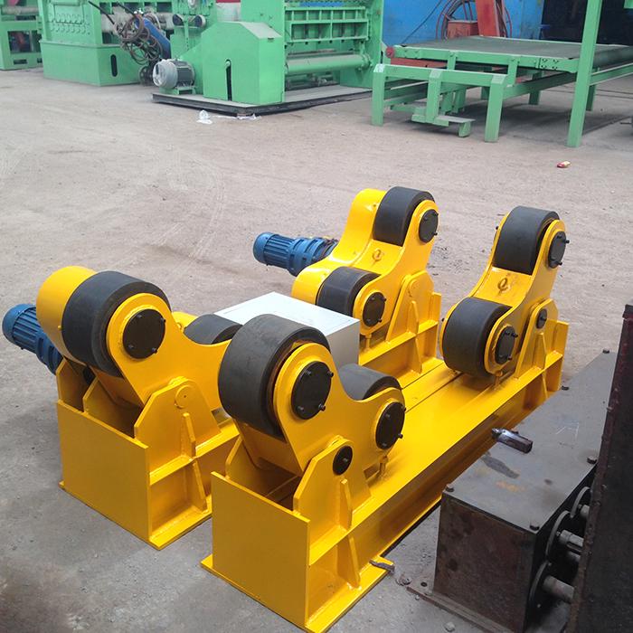 10吨自调式滚轮架5