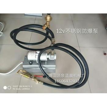 不锈钢12V防爆倒气泵