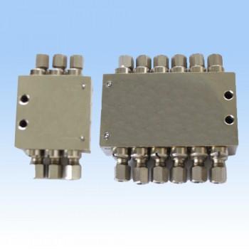 SSV型单线递进式分配器