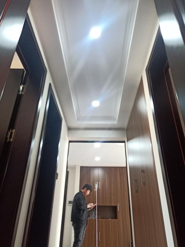 中海铂悦府完工实景工地新中式装修烟台城市人家装饰莱山装修公司6