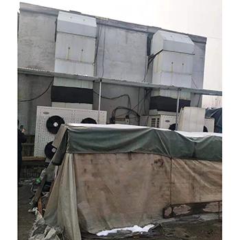 河南临颖县空气能热泵烘干