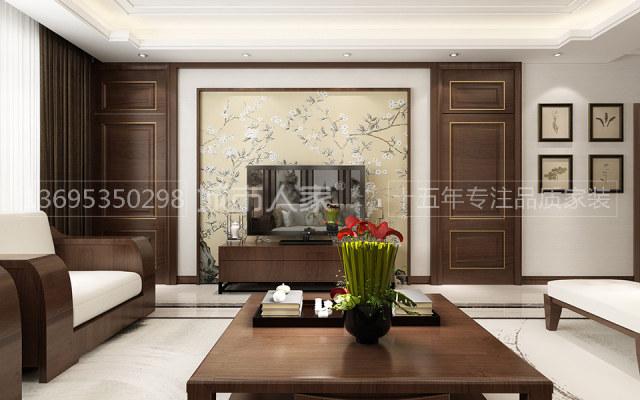 祥隆绿城诚园新中式风格装修烟台城市人家装饰View01