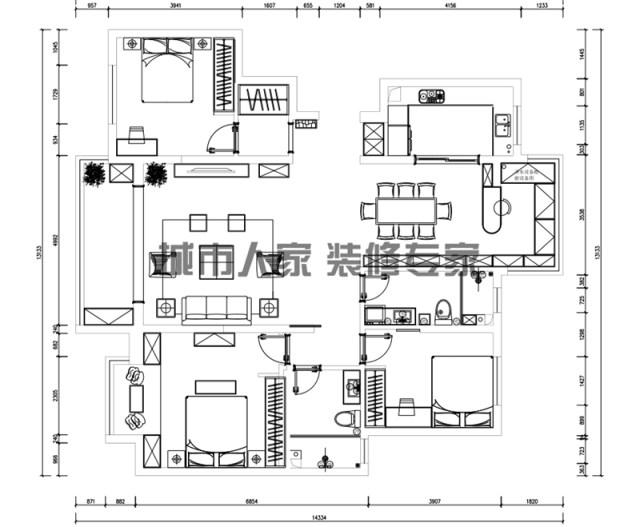 烟台明珠山庄莱山装修公司01