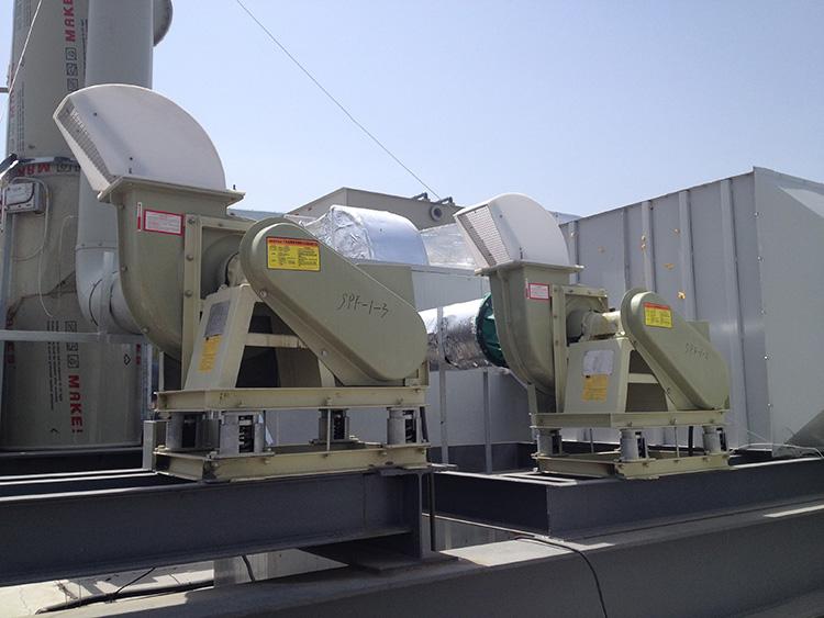 通风设备噪声治理
