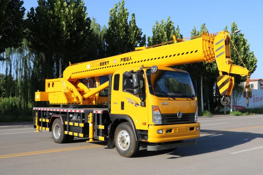 2019年新款大12吨重汽王牌吊车