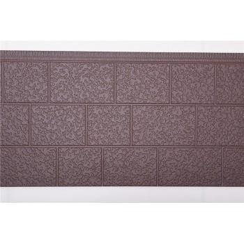 方砖纹金属雕花板