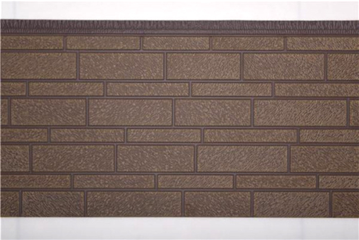 宽窄砖纹金屬雕花板