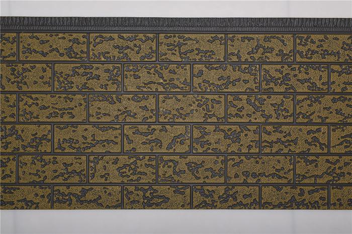 粗砖纹金屬雕花板
