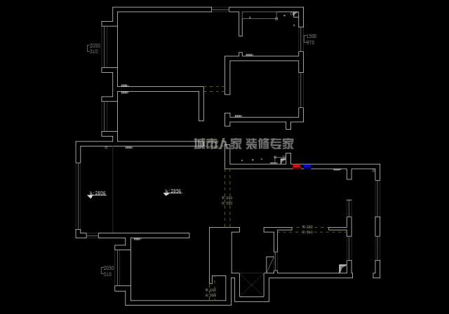 益文佳苑二中家屬樓交房設計裝修公司