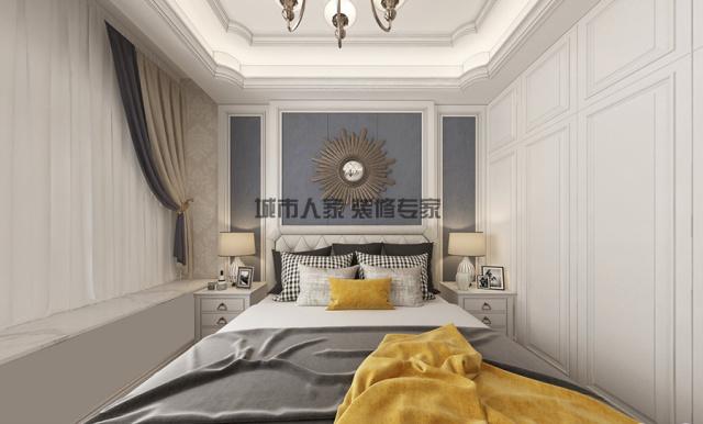 萬光中華城146簡歐設計裝修05