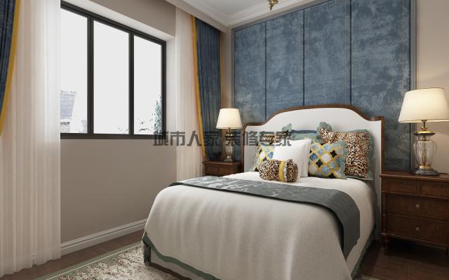 泰颐新城美式风格设计装修效果图03