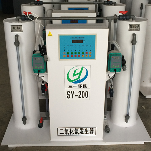 二氧化氯发生装置
