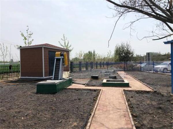 地埋城乡一体化污水处理设备