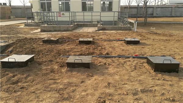 一体化地埋生活污水处理设备